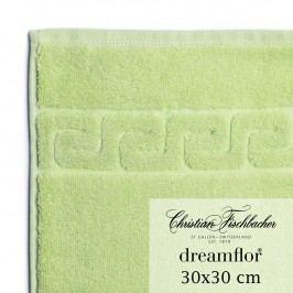 Christian Fischbacher Ručník na ruce/obličej 30 x 30 cm světle zelený Dreamflor®, Fischbacher