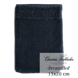 Christian Fischbacher Žínka 15 x 20 cm temně modrá Dreamflor®, Fischbacher