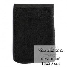 Christian Fischbacher Žínka 15 x 20 cm černá Dreamflor®, Fischbacher