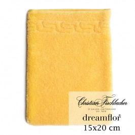Christian Fischbacher Žínka 15 x 20 cm žlutá Dreamflor®, Fischbacher