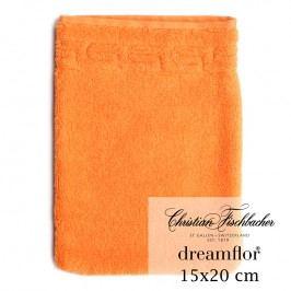 Christian Fischbacher Žínka 15 x 20 cm oranžová Dreamflor®, Fischbacher