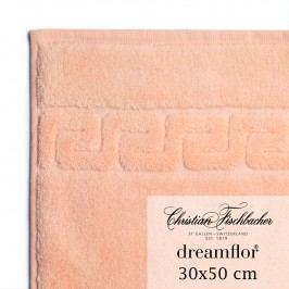 Christian Fischbacher Ručník pro hosty 30 x 50 cm lososový Dreamflor®, Fischbacher