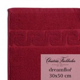 Christian Fischbacher Ručník pro hosty 30 x 50 cm bordeaux Dreamflor®, Fischbacher