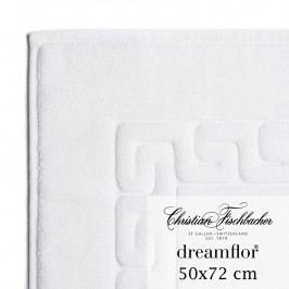 Christian Fischbacher Koupelnová předložka 50 x 72 cm bílá Dreamflor®, Fischbacher