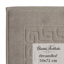 Christian Fischbacher Koupelnová předložka 50 x 72 cm béžovošedá Dreamflor®, Fischbacher