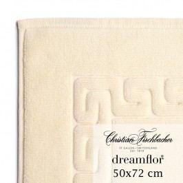 Christian Fischbacher Koupelnová předložka 50 x 72 cm slonová kost Dreamflor®, Fischbacher