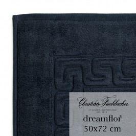 Christian Fischbacher Koupelnová předložka 50 x 72 cm temně modrá Dreamflor®, Fischbacher