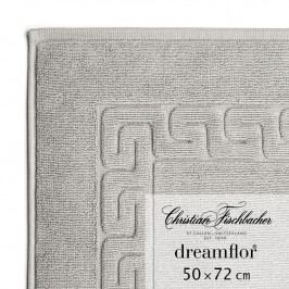 Christian Fischbacher Koupelnová předložka 50 x 72 cm grafitová Dreamflor®, Fischbacher