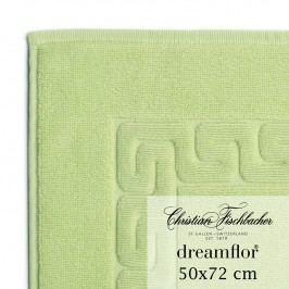 Christian Fischbacher Koupelnová předložka 50 x 72 cm světle zelená Dreamflor®, Fischbacher