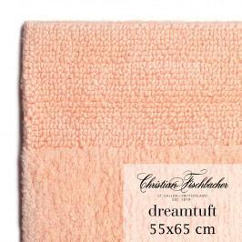 Christian Fischbacher Koupelnový kobereček 55 x 65 cm lososový Dreamtuft, Fischbacher