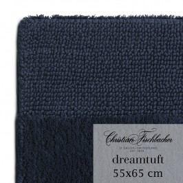 Christian Fischbacher Koupelnový kobereček 55 x 65 cm temně modrý Dreamtuft, Fischbacher