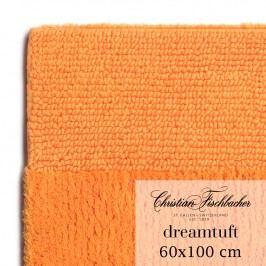 Christian Fischbacher Koupelnový kobereček 60 x 100 cm oranžový Dreamtuft, Fischbacher