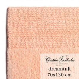 Christian Fischbacher Koupelnový kobereček 70 x 130 cm lososový Dreamtuft, Fischbacher