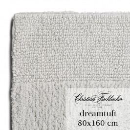 Christian Fischbacher Koupelnový kobereček 80 x 160 cm stříbrný Dreamtuft, Fischbacher