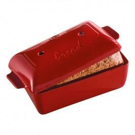 Emile Henry Forma na pečení toustového chleba červená Burgundy