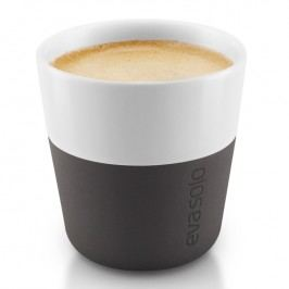 Eva Solo Termošálky na espresso 80 ml 2 kusy karbonově černé