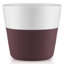 Eva Solo Termohrnky na kávu Lungo 230 ml 2 kusy tmavá burgundy