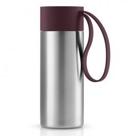 Eva Solo Nerezový termohrnek To Go XL s uzávěrem tmavá burgundy 0,5 l