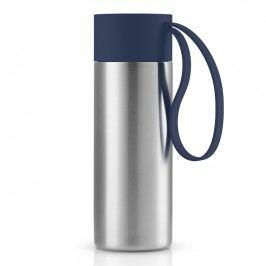 Eva Solo Nerezový termohrnek To Go 0,35 l s námořnicky modrým uzávěrem