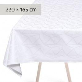 Georg Jensen Damask Ubrus white 220 x 165 cm ARNE JACOBSEN