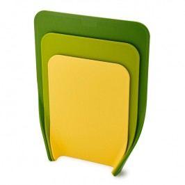 Joseph Joseph Sada tvarovaných krájecích prkének zelená Nest™ Chop