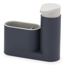 Joseph Joseph Stojánek s dávkovačem mýdla šedý SinkBase™