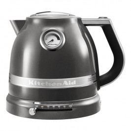 KitchenAid Rychlovarná konvice 1,5 l Artisan stříbřitě šedá