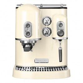 KitchenAid Pákový kávovar na espresso Artisan mandlová