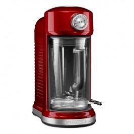 KitchenAid Stolní mixér s magnetickým pohonem Artisan červená metalíza
