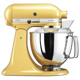 KitchenAid Kuchyňský robot Artisan Elegance s 2 mísami žlutá
