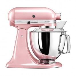KitchenAid Kuchyňský robot Artisan Elegance s 2 mísami růžový satén