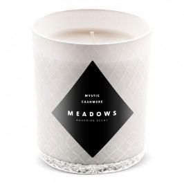Meadows Vonná svíčka Mystic Cashmere medium bílá