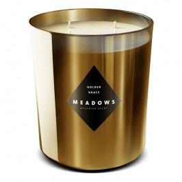 Meadows Vonná svíčka Golden Grace maxi zlatá