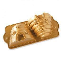 Nordic Ware Forma na 3D včelí úl Beehive Bundt® zlatá