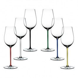 Riedel Výhodné dárkové balení sklenic 5+1 zdarma Riesling/Zinfandel Fatto a Mano