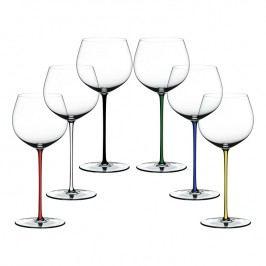 Riedel Výhodné dárkové balení sklenic 5+1 zdarma Oaked Chardonnay Fatto a Mano