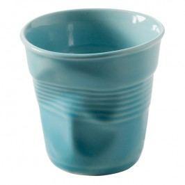 REVOL Kelímek na cappuccino 18 cl karibská modř Froissés