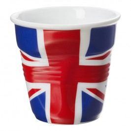 REVOL Kelímek na cappuccino 18 cl s britskou vlajkou Froissés