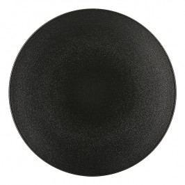 REVOL Talíř na hlavní chod Ø 28 cm matná černá Equinoxe