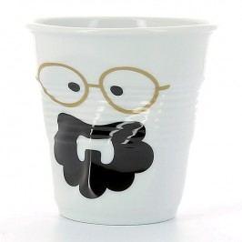 REVOL Kelímek na cappuccino 18 cl Monsieur Boheme Froissés