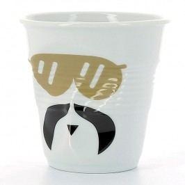 REVOL Kelímek na cappuccino 18 cl Monsieur Glam Froissés