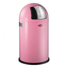 Wesco Odpadkový koš Pushboy Junior 22 l růžový