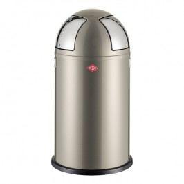 Wesco Odpadkový koš Push two 50 l (2x 25 l) nová stříbrná
