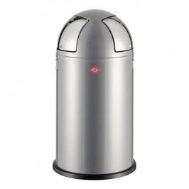 Wesco Odpadkový koš Push two 50 l (2x 25 l) stříbrný