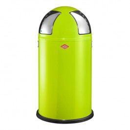 Wesco Odpadkový koš Push two 50 l (2x 25 l) světle zelený