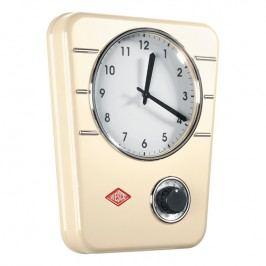 Wesco Kuchyňské hodiny s minutkou mandlové