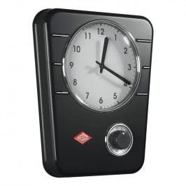 Wesco Kuchyňské hodiny s minutkou černé