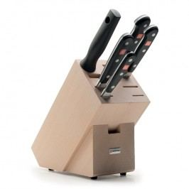 WÜSTHOF Sada nožů s blokem a ocílkou 6dílná Classic