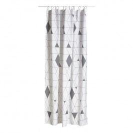 ZONE Sprchový závěs 180 × 200 cm grey HARLEQUIN
