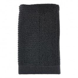 ZONE Ručník 50 x 100 cm anthracite/ black CLASSIC